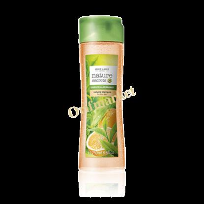 تصویر شامپو حجم دهنده با عصاره ترنج و چای سبز