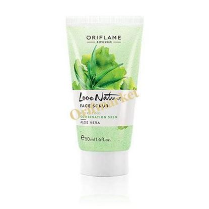 Picture of اسکراب صورت آلوورا Love Nature Face Scrub Aloe Vera