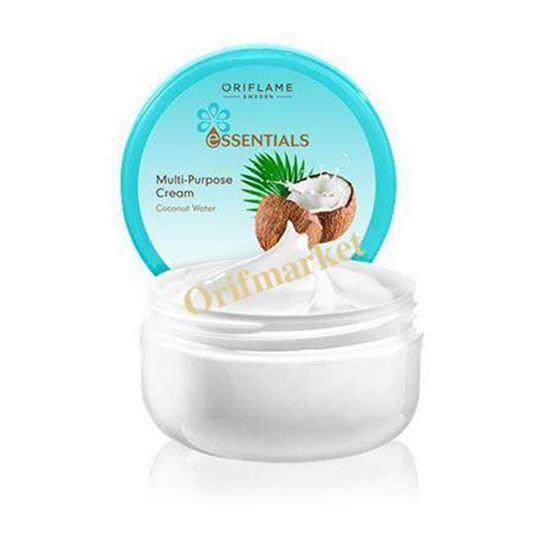 تصویر کرم دست و بدن با عصاره نارگیل Essentials Multi-Purpose Cream Coconut Water