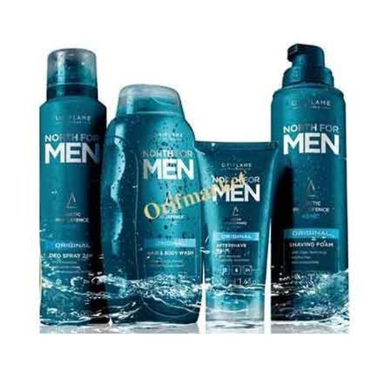 تصویر ست بهداشتی مخصوص آقایان North For Men