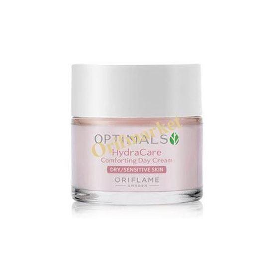 تصویر كرم روز آبرسان و آرام بخش هیدرا اپتيمالز (مخصوص پوست های خشک و حساس) 💓Optimals Hydra Care Comforting Day Cream Dry/Sensitive Skin