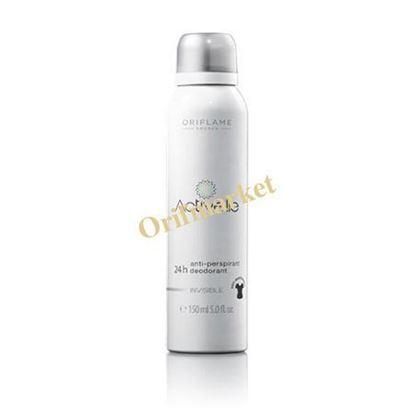 Picture of اسپری دئودورانت ضد تعریق ۲۴ ساعته برای لباس های سفید و مشکی Activelle Anti-perspirant 24H Deodorant Invisible Spray