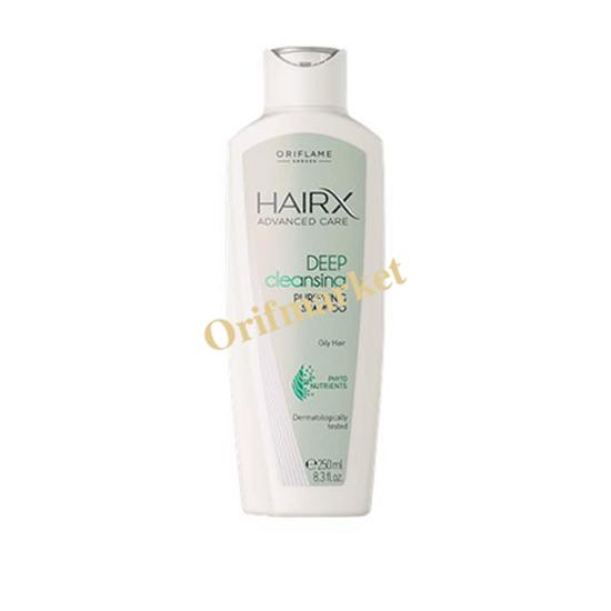 تصویر شامپو موی چرب هیریکس HairX advanced care deep cleansing purifying shampoo