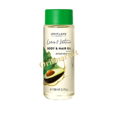 Picture of  Love Nature Body & Hair Oil Avocado Oil