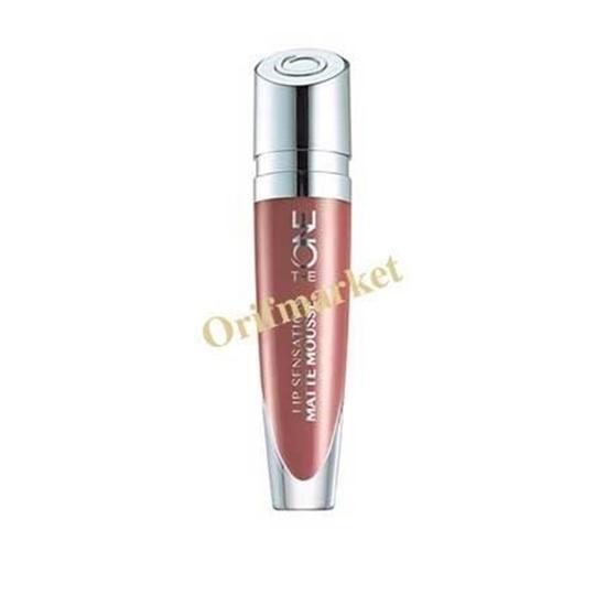تصویر رژ لب موس مات با رنگ بندی جدید (گوشتی) The One Lip Sensation Matte Mousse