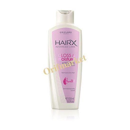 تصویر شامپو براق کننده و شاداب کننده هیریکس  HairX - Gloss & moisture shampoo