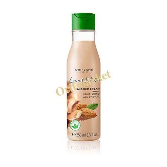 تصویر شاور كرم بادام لاو نیچر(250 میل) Love Nature Shower Cream Nourishing Almond Oil