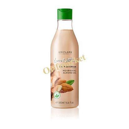تصویر شامپو بدن کرمی بادام لاونیچر(500 میل) Love Nature Shower Cream Nourishing Almond Oil