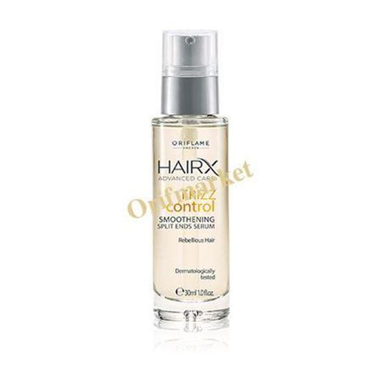 تصویر سرم ترمیم موهای خشک و شکننده Hairx Advanced Care Frizz Control Smoothening Split Ends Serum