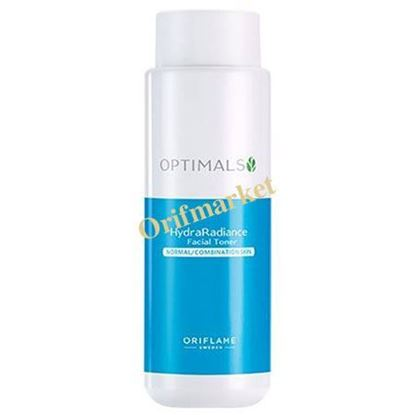 تصویر تونر پاکسازی پوست صورت اپتیمالز (مخصوص پوست های نرمال و مختلط) Optimals Hydra Radiance Facial Toner Normal / Combination Skin