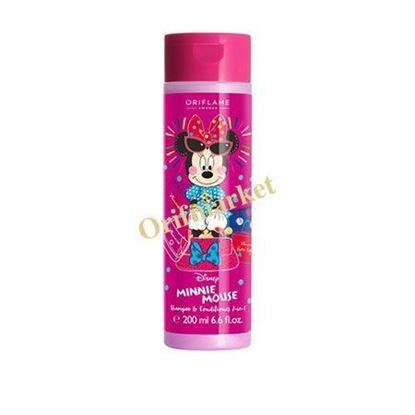 تصویر شامپو و نرم کننده دخترانه مینی موس Oriflame Disney Minnie Mouse Shampoo & Conditioner