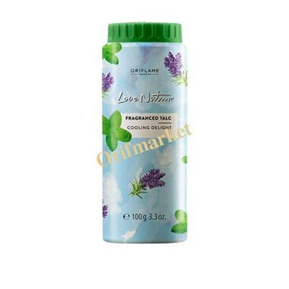 Picture of Love Nature Fragranced Talc Cooling Delight