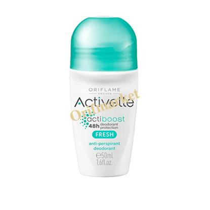 تصویر مام دئودورانت و ضد تعریق رولی اکتیول با عصاره برگ درخت چای سبز -Fresh Activelle comfort Anti perspiration deodorant