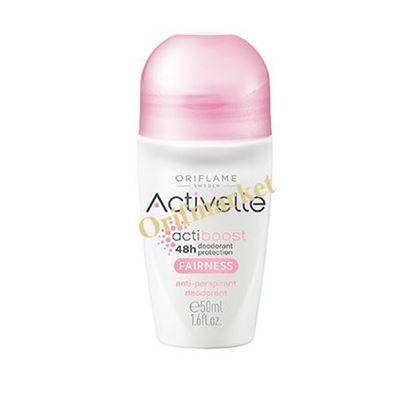 تصویر دئودورانت و ضد تعریق رولی اکتیول بدون رد رطوبت -Activelle Fairness Anti perspiration deodorant