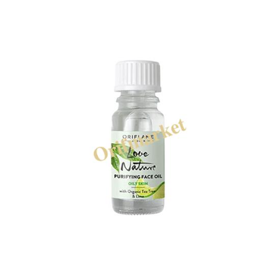 تصویر محلول ضدجوش روغن درخت چای و لیمو لاونیچر  🌿Love Nature Purifying Face Oil with Organic Tea Tree & Lime
