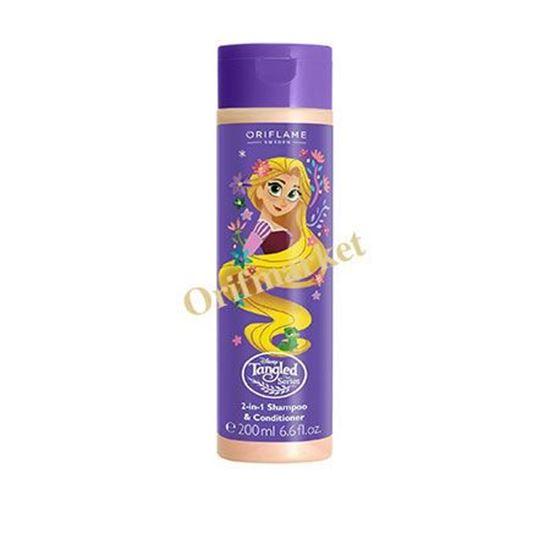 تصویر شامپو و نرم کننده راپونزل و دوست کوچیکش پاسکال  Oriflame Disney Tangled The Series 2-in-1 Shampoo & Conditiondet