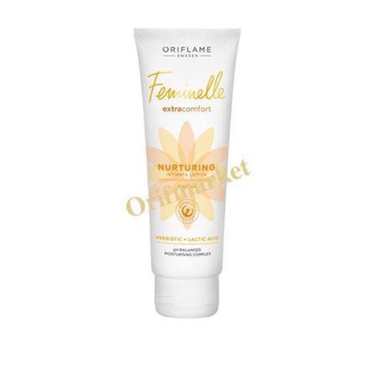 تصویر لوسیون مرطوب کننده بانوان Feminelle Extra Comfort Nurturing Intimate Lotion Calendula