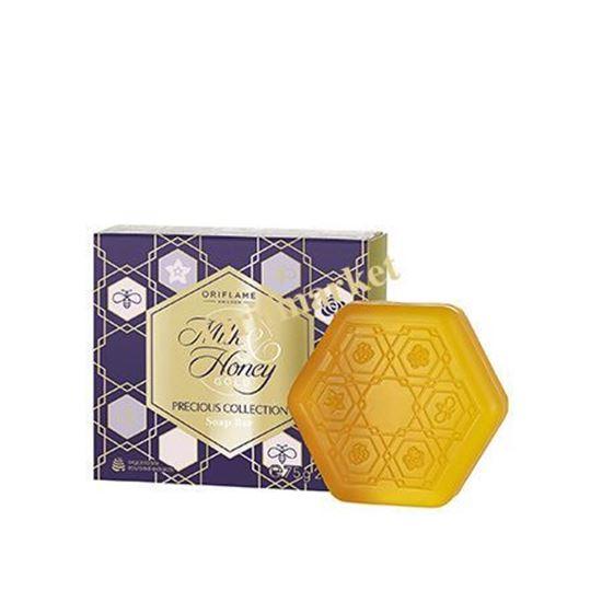 تصویر صابون شیر و عسل سری طلایی Milk & honey gold Precious collection soap bar