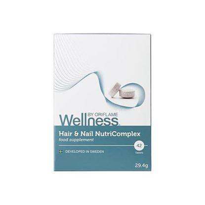 تصویر قرص مغذی مو و ناخن ولنس Wellness hair and nail NutriComplex