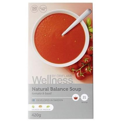 تصویر سوپهای پروتیینه لاغری ولنس Natural Balance Soup tomato & basil