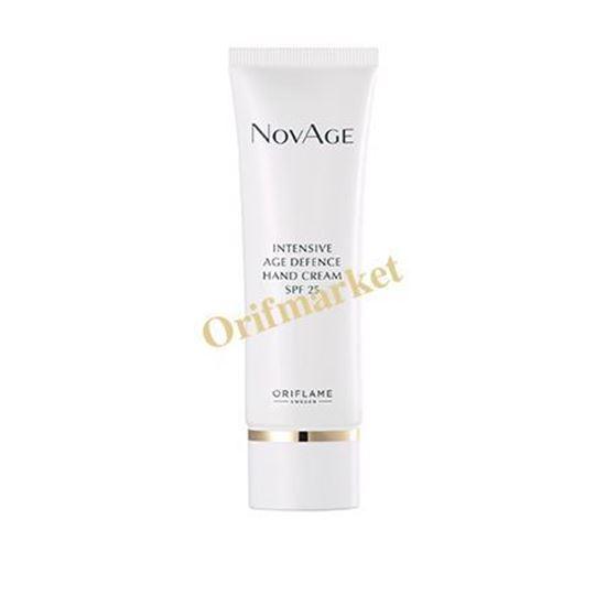 تصویر کرم دست ضدپیری و محافظت کننده ی پوست دست نویج Novage Intensive Age Defence Hand Cream SPF25