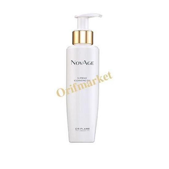 تصویر ژل پاک کننده صورت نویج(شوینده و تونر در یک محصول) NovAge Supreme Cleansing Gel