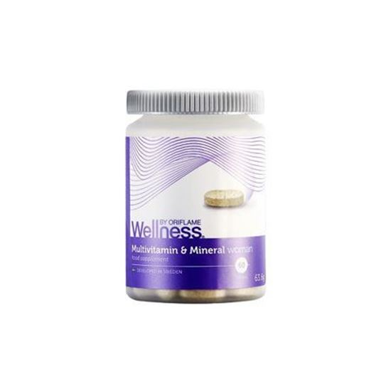 قرص مولتی ویتامین ولنس بانوان Wellness Multivitamins and Mineral Woman