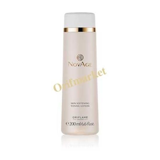 لوسیون ضدپیری و تنظیم کننده PH پوست NovAge skin softening toning lotion
