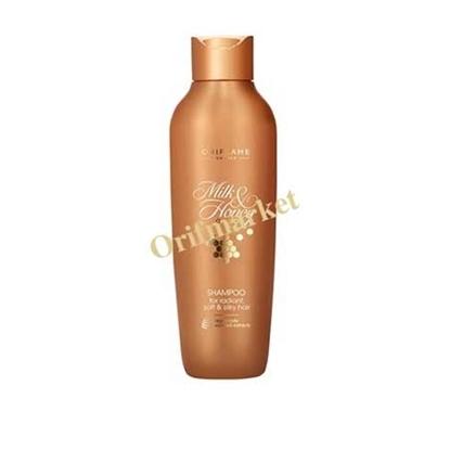 شامپو شیر و عسل (مناسب برای موهای فر و خشک) 🥛🍯 M&H Gold Shampoo