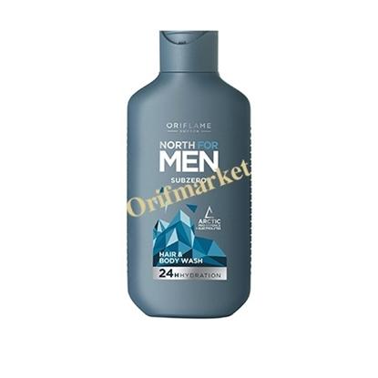 شوینده سر  و بدن نورث فور من North For Men Subzero Hair & Body Wash
