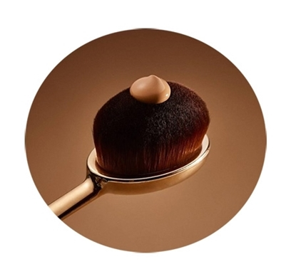 برس کرم پودر مایع Oval Make-up Brush