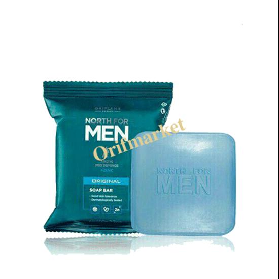 تصویر صابون مردانه زینک پلاس North For Men