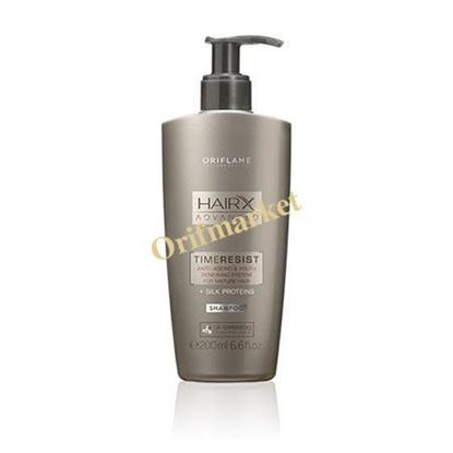 تصویر شامپو ضد پیری و ضد ریزش هیریکس Hair X Advanced Time Resist