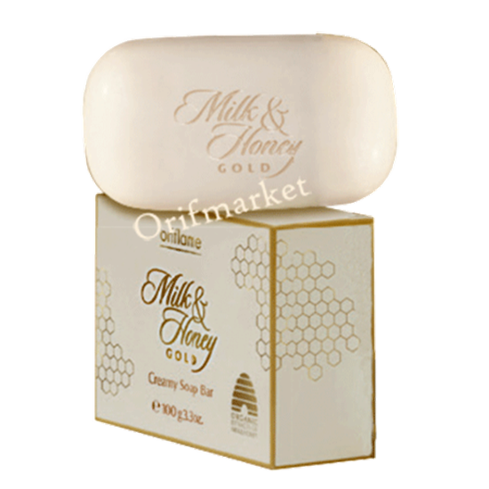 تصویر صابون شیر و عسل Milk & Honey Gold Soap Bar