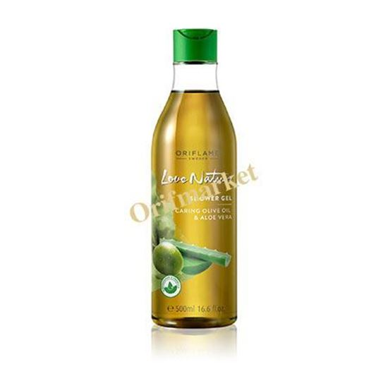 تصویر شامپو بدن با عصاره زيتون و آلوئه ورا(۲۵0 میل) Shower Gel Moisturising Olive Oil