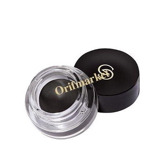 تصویر خط چشم ژلی سوپر بلک جوردانی گلد Giordani Gold Supreme Gel eye liner rich black