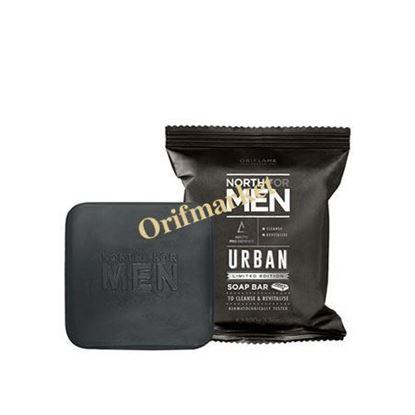 تصویر صابون مردانه نورث North For Men Urban soap bar