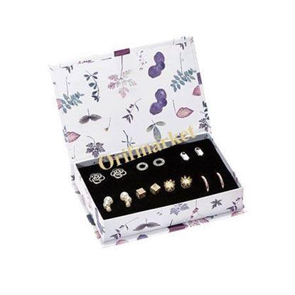 تصویر ست 7 جفت گوشواره Queen Earring Set