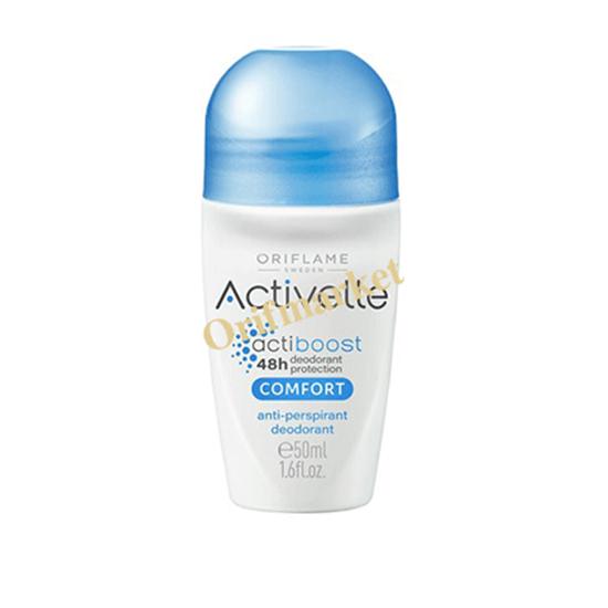 تصویر مام دئودورانت و ضد تعریق رولی اکتیول با عصاره کتان  Comfort Activelle Anti-perspirant Deodorant