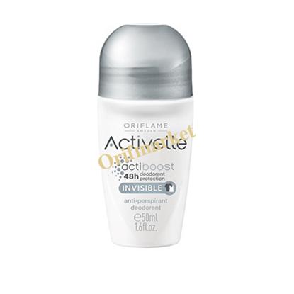 تصویر دئودورانت و ضد تعریق رولی اکتیول برای لباس های سفید و مشکی  Invisible Activelle Anti-perspirant Deodorant
