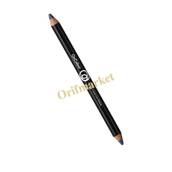 مداد چشم دوسر آنکالر Oncolour Perfect Duo Eye Pencil