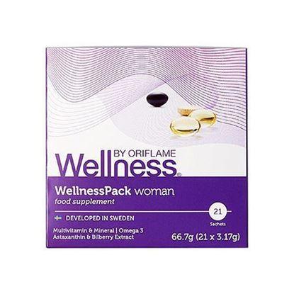 تصویر پک قرص ولنس مخصوص بانوان Wellness packs