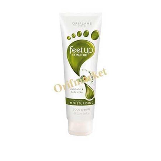 تصویر کرم پا با عصاره طبیعی آوکادو و آلوورا فیتاپ(سایز بزرگ 150 میل)  Night Moisturizing Cream Leg Feet Up Comfort