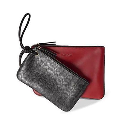 کیف دستی قرمز و مشکی اوریفلیم