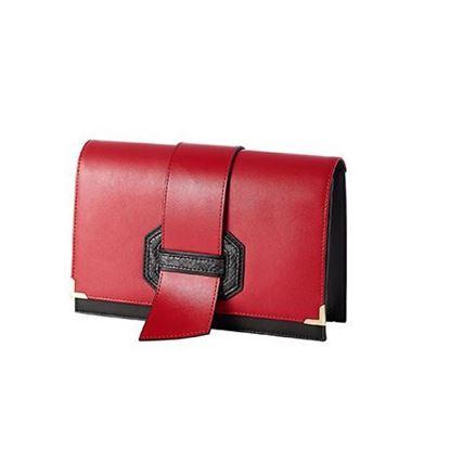 کیف دوشی قرمز و مشکی اوریفلیم