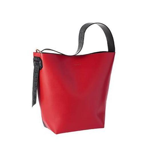 کیف دوشی بزرگ قرمز و مشکی اوریفلیم