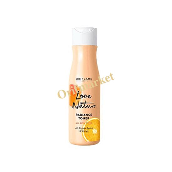 تونر لاونیچر حاوی عصاره پرتقال و زردآلو Radiance Toner with Organic Apricot & Orange