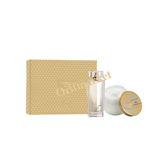 تصویر ست عطر و کرم بدن زنانه جوردانی گلد اورجینال  Giordani Gold Original Eau de Parfum set