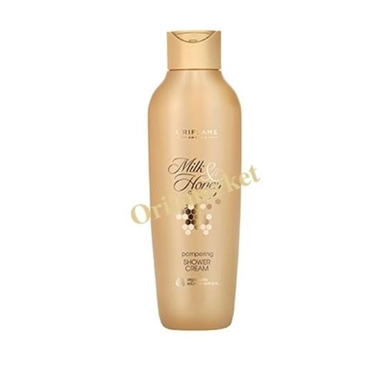 شامپو بدن کرمی شیر و عسل طلایی MILK & HONEY GOLD Pampering Shower Cream