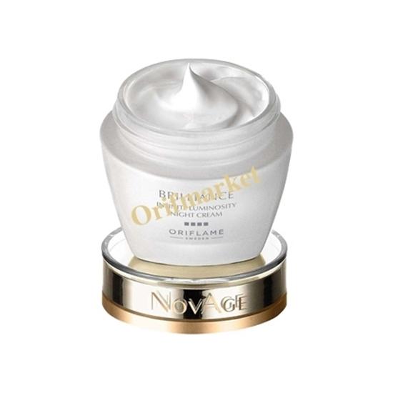 کرم شب روشن کننده و ضدپیری برلیانس نویجNOVAGE Brilliance Infinite Luminosity Night Cream